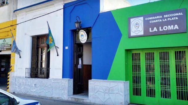 comisaría cuarta de La Plata 20211005