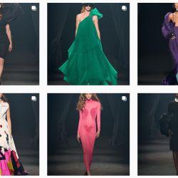 Alber Elbaz fue inmortalizado en la Semana de la Moda de París