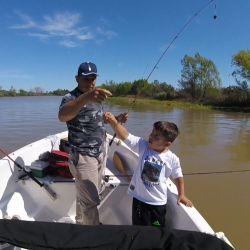 La pesca no solo se disfruta practicándola, sino también enseñándola.