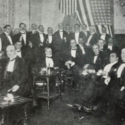 The American Club was officially established as a registered entity in 1918, when the American Commercial Club divided its interests between the American Chamber of Commerce and what would soon be named the American Club of Buenos Aires. Photo taken in 1923.