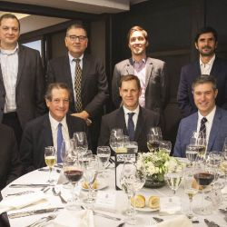 Visit of Central Bank of Argentina President Miguel Pesce and executives from multinational oil and gas companies in Argentina, December 2019.