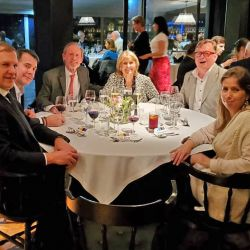 The American Club brought back private monthly dinners for members in October 2019.