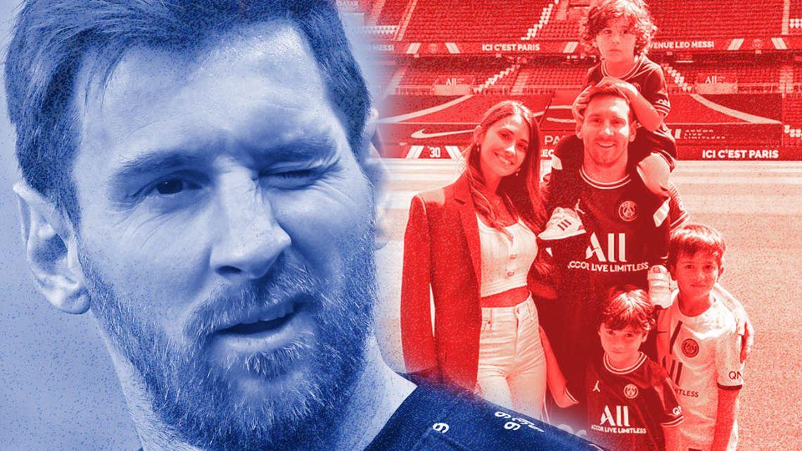 Lionel Messi: Argentina's new ambassador in Paris.