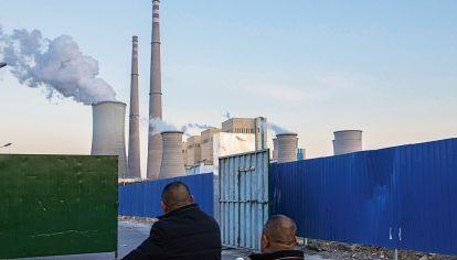Emisión de gases de empresas