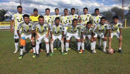 De Primera. El equipo principal de San Brochero FC juega en la máxima categoría de la Liga Dolorense.