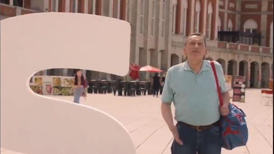 Una de las escenas del primer spot de campaña del FdT en la carrera por revertir el resultado de las PASO, ahora a cargo del catalán Gutiérrez Rubí.