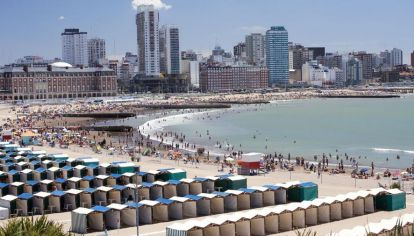 Mar del Plata fue uno de los destinos más elegidos este fin de semana largo.