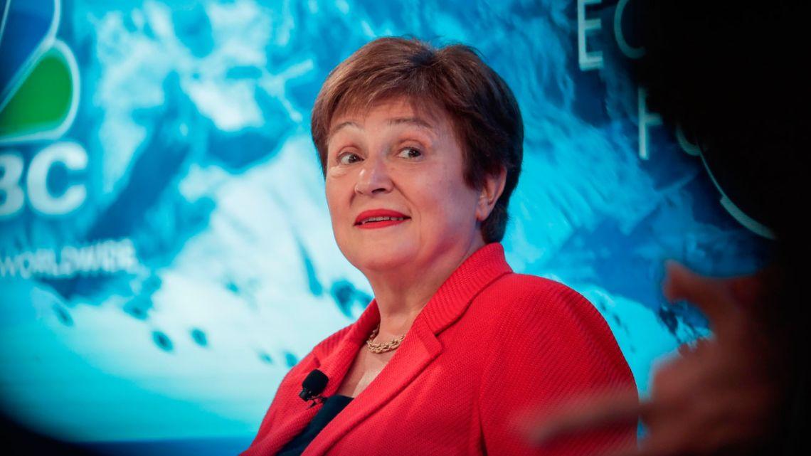 International Monetary Fund Managing Director Kristalina Georgieva.