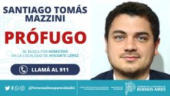 Santiago Mazzini profugo asesino recompensa g_20211012