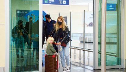 Todas las fotos: así fue el regreso de Luisana Lopilato y Michael Bublé al país