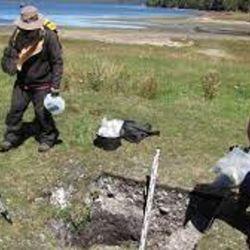 El hallazgo tuvo lugar en el sitio arqueológico conocido como GUA-010 Conchal, ubicado en el Archipiélago de los Chonos, Chile