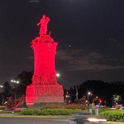 Monumentos iluminados por el Día Mundial de la Trombosis | Foto:cedoc