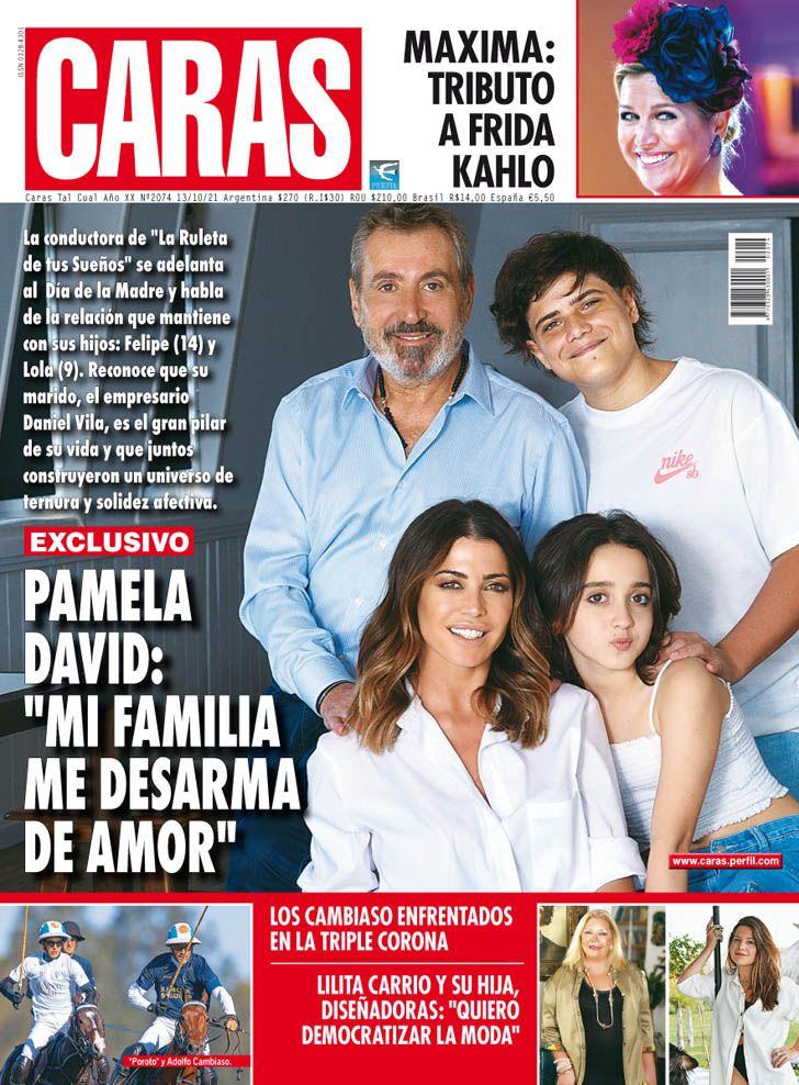 """Pamela David: """"Mi familia me desarma de amor"""""""