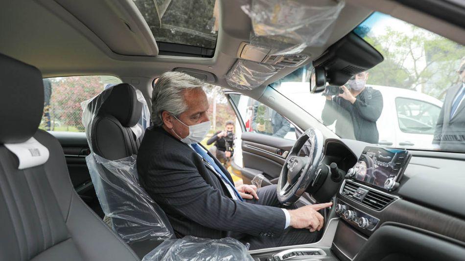Alberto en la planta de Toyota 20211013