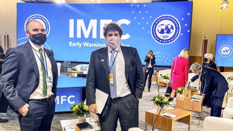Guzmán en reunión de ministros de Finanzas del G20 20211013