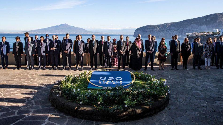 Santiago Cafiero G20 Italia 20211013