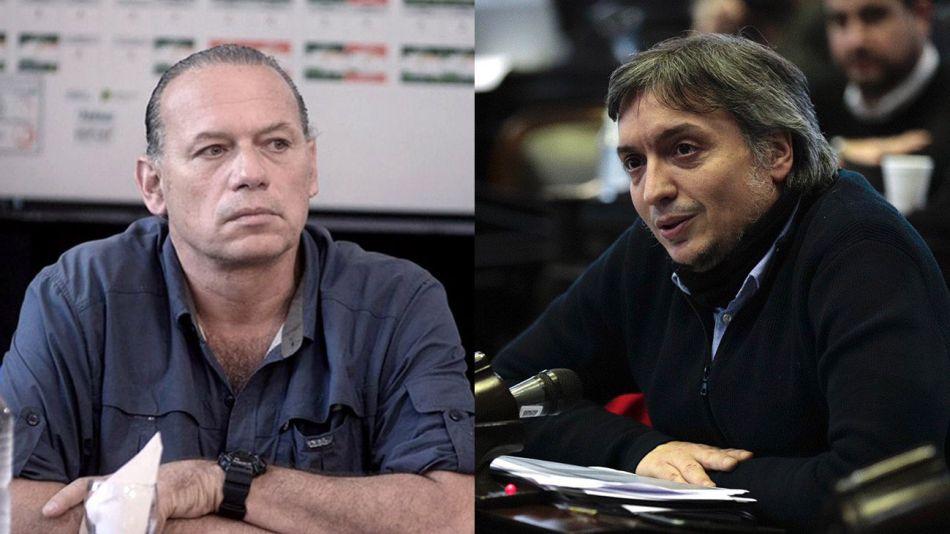 Sergio Berni y Máximo Kirchner 20211013