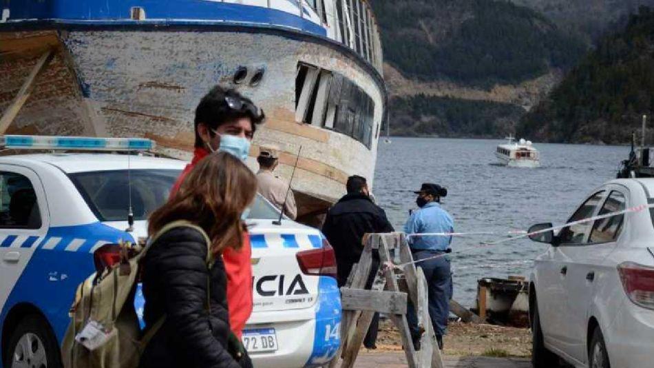 Suicidio Lago Lácar