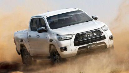 Toyota lanza la nueva Hilux GR Sport (Japón), en Argentina en 2022
