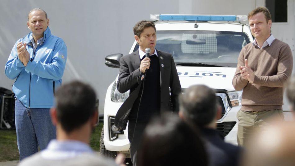 Axel Kicillof anuncia aumento de salario para la policía 20211014