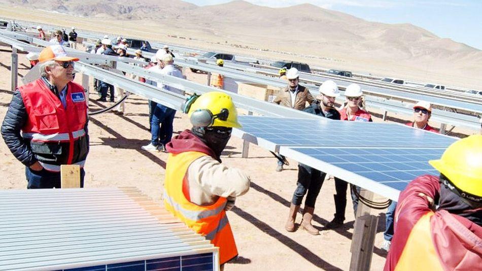 Parque solar Cauchari en Jujuy 20211014