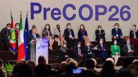 Cumbre previa a la COP 26 en el Centro de Conferencias de Milán 20211015