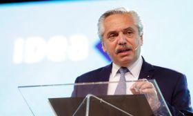 President Alberto Fernández IDEA