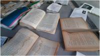 Biblioteca Feminaria tras la inundación