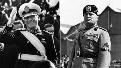 Perón y Mussolini