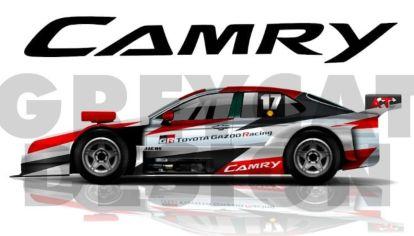 Así sería el Toyota Camry que debutará en el Turismo Carretera
