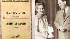 El casamiento de Perón y Evita