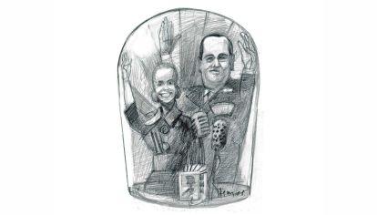 Eva y Perón