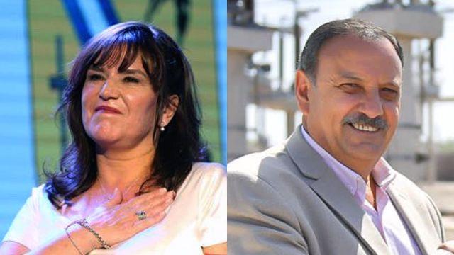 Intendente de La Rioja Inés Brizuela Y Doria y el gobernador Ricardo Quintela. 20211018
