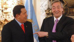 Hugo Chavez y Nestor Kirchner 20211019
