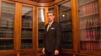 Horacio Rosatti en su despacho de la Corte
