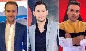 Adrián Pallares, Rodrigo Lussich y Ángel de Brito