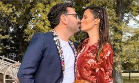 Paula Chaves y Damian Betular