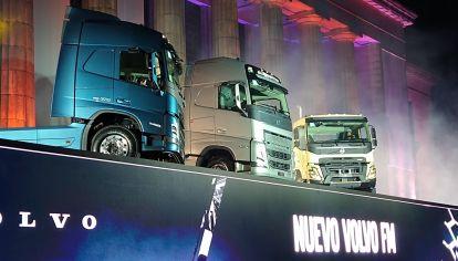 Cómo son y qué innovaciones presentan los nuevos Volvo FH, FM y FMX