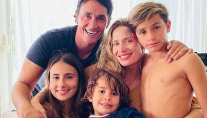 Sebastián Estevanez y su familia eligieron el nombre de un prócer para su futuro hijo