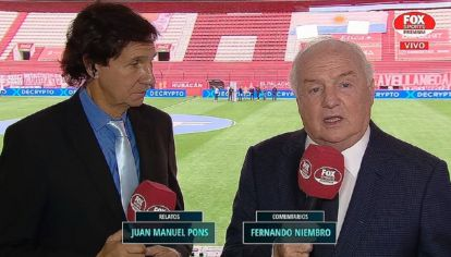 Niembro volvió a las transmisiones y ya genera tensión en el círculo rojo del fútbol argentino.