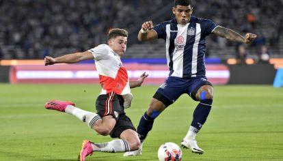 INDISCUTIDO. Álvarez es el valor más destacado del fútbol argentino. Convirtió 9 goles en los últimos 13 partidos y fue clave frente a Talleres.