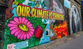 climate graffiti