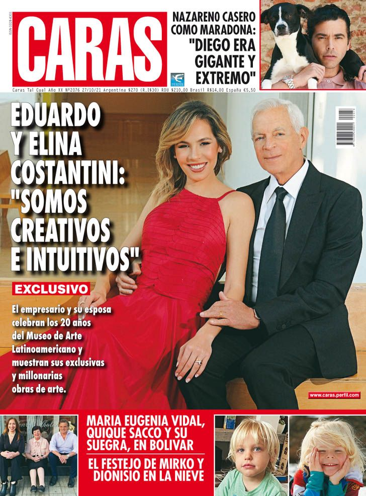 "Eduardo y Elina Costantini: ""Somos creativos e intuitivos"""