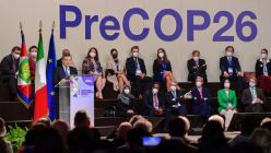 Cumbre previa a la COP 26 en el Centro de Conferencias de Milán