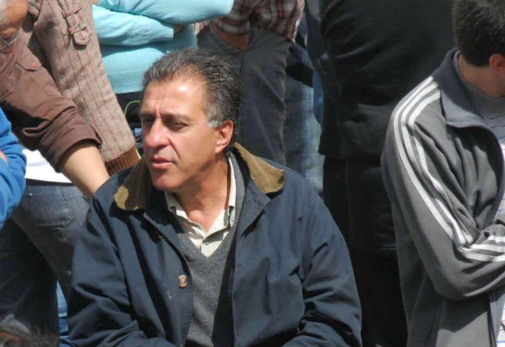 Néstor Pitrola se encuentra en el corte de Panamericana