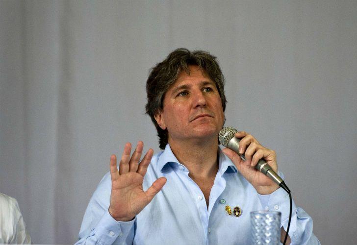 Jorge Lanata, conductor del programa Periodismo para Todos.