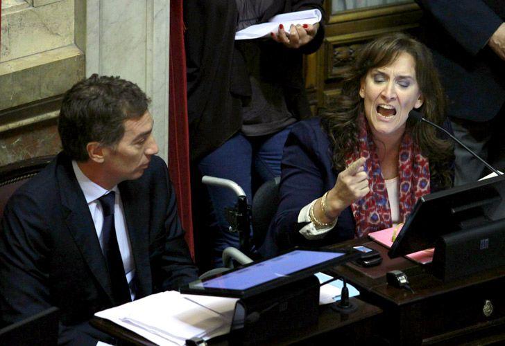 Gabriela Michetti, en desacuerdo con que Boudou se aparte de su cargo.