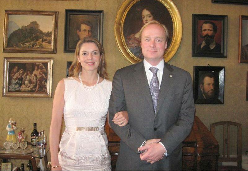 Carlos Javier de Borbón-Parma, noble de sangre holandesa de 41 años.