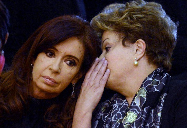 Turbulencias en los futuros económicos de CFK y Dilma.