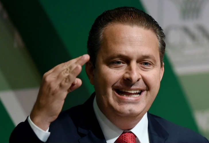 El candidato presidencial Eduardo Campos, fallecido en un accidente.